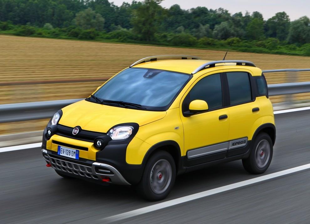 Fiat Panda Cross provata in pista a Balocco - Foto 2 di 15