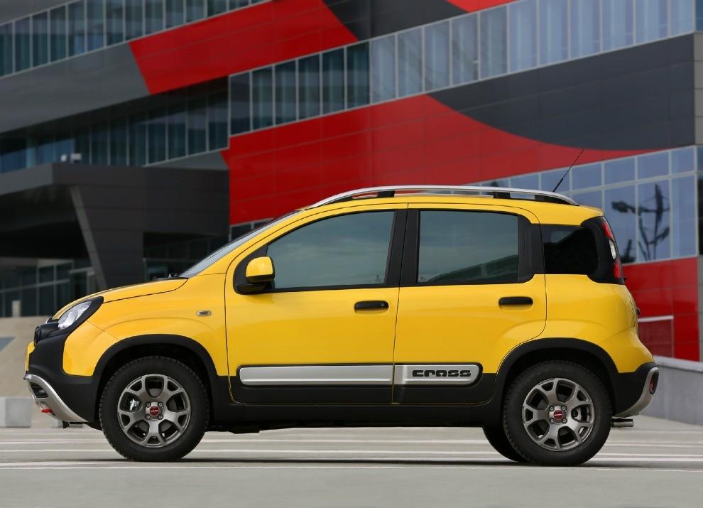 Fiat Panda Cross provata in pista a Balocco - Foto 3 di 15