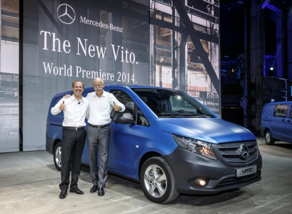 Nuovo Mercedes Vito gamma motori, prestazioni ed equipaggiamenti - Foto 2 di 5