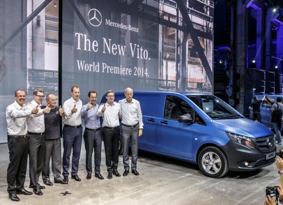 Nuovo Mercedes Vito gamma motori, prestazioni ed equipaggiamenti - Foto 4 di 5
