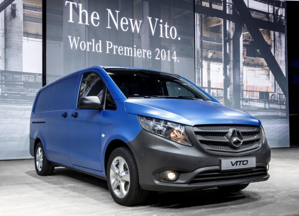 Nuovo Mercedes Vito gamma motori, prestazioni ed equipaggiamenti - Foto 1 di 5