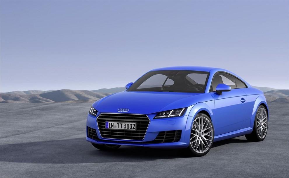 Nuova Audi TT, emissioni ridotte per la sportiva tedesca - Foto 1 di 5
