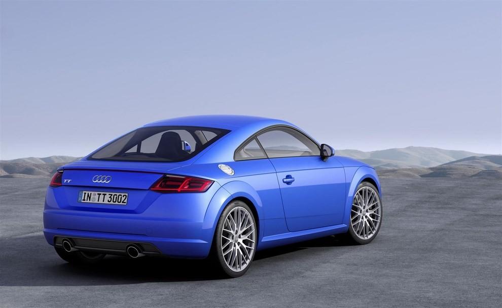 Nuova Audi TT, emissioni ridotte per la sportiva tedesca - Foto 2 di 5