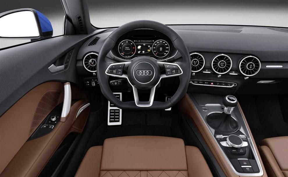 Nuova Audi TT, emissioni ridotte per la sportiva tedesca - Foto 3 di 5