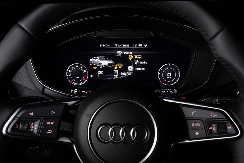 Nuova Audi TT, emissioni ridotte per la sportiva tedesca - Foto 4 di 5