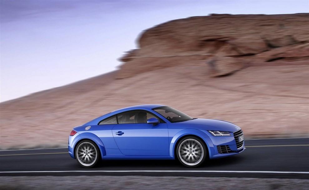 Nuova Audi TT, emissioni ridotte per la sportiva tedesca - Foto 5 di 5