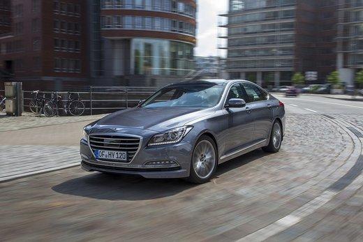 Hyundai Genesis, la seconda generazione sbarca in Europa