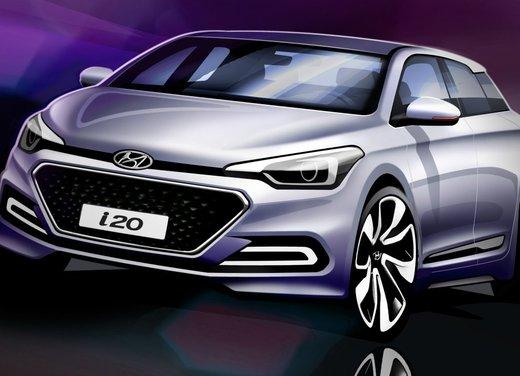 Nuova Hyundai i20 prime immagini ufficiali