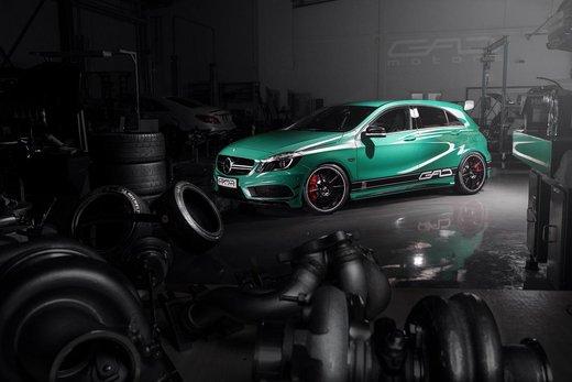 Mercedes A45 AMG tuning da 430 CV by GAD Motors