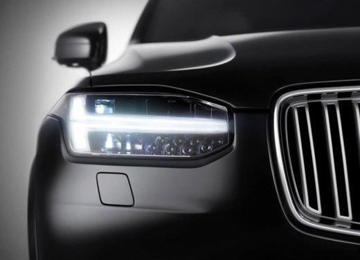 Nuova Volvo XC90: teaser e dati tecnici ufficiali