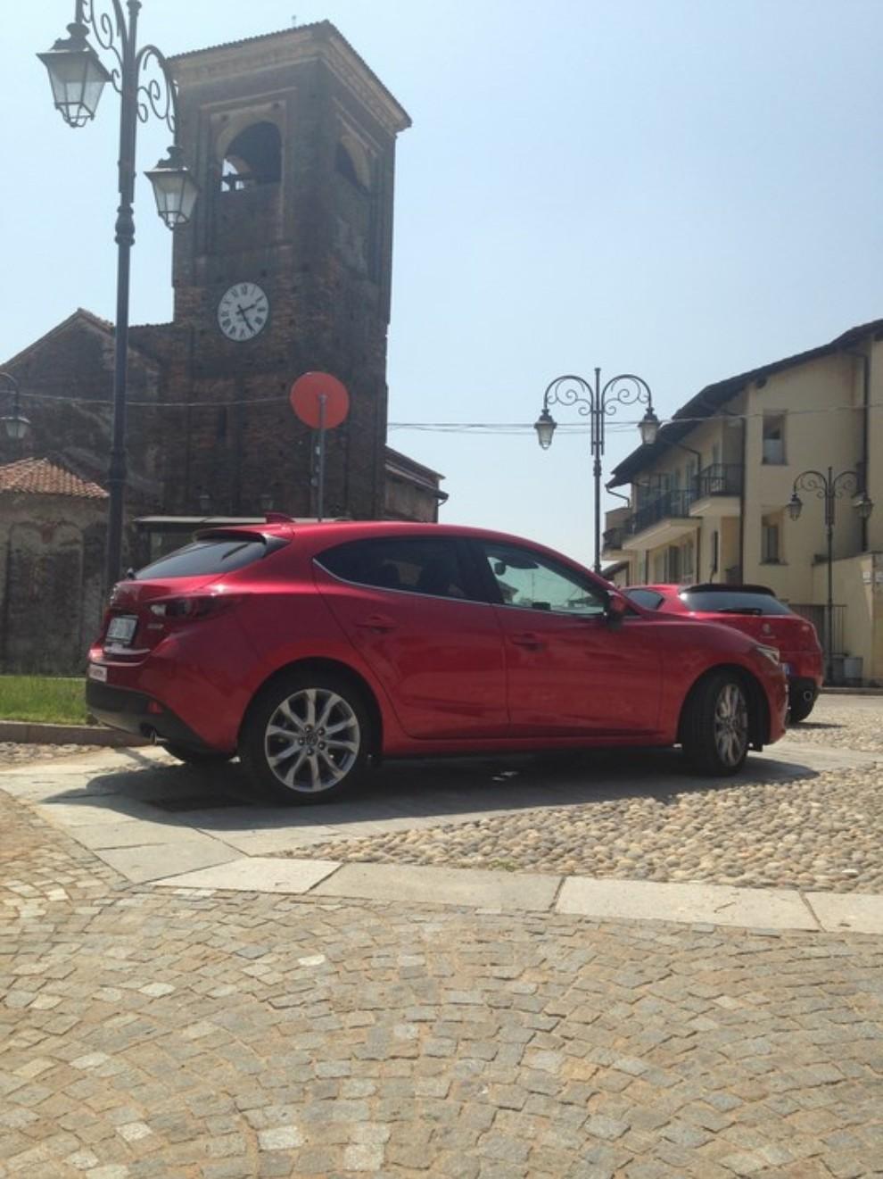 Mazda3 2.2 150 CV provata su strada - Foto 12 di 15
