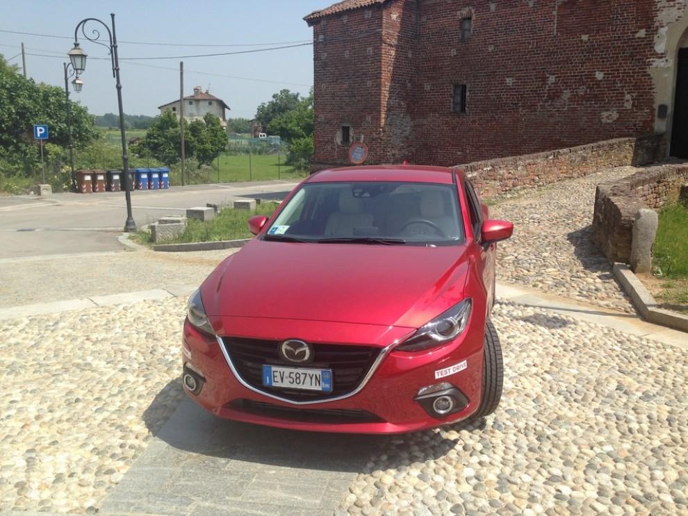 Mazda3 2.2 150 CV provata su strada - Foto 4 di 15