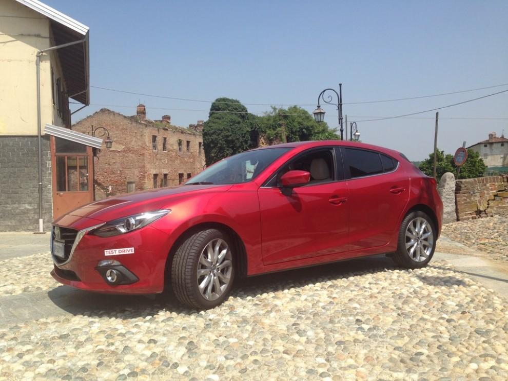Mazda3 2.2 150 CV provata su strada - Foto 5 di 15