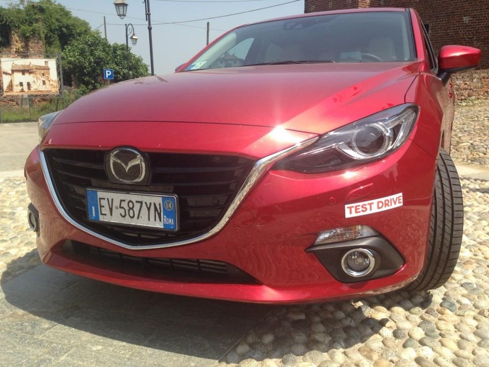 Mazda3 2.2 150 CV provata su strada - Foto 7 di 15