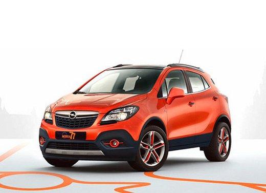 Opel Mokka in edizione speciale per il Salone di Mosca 2014