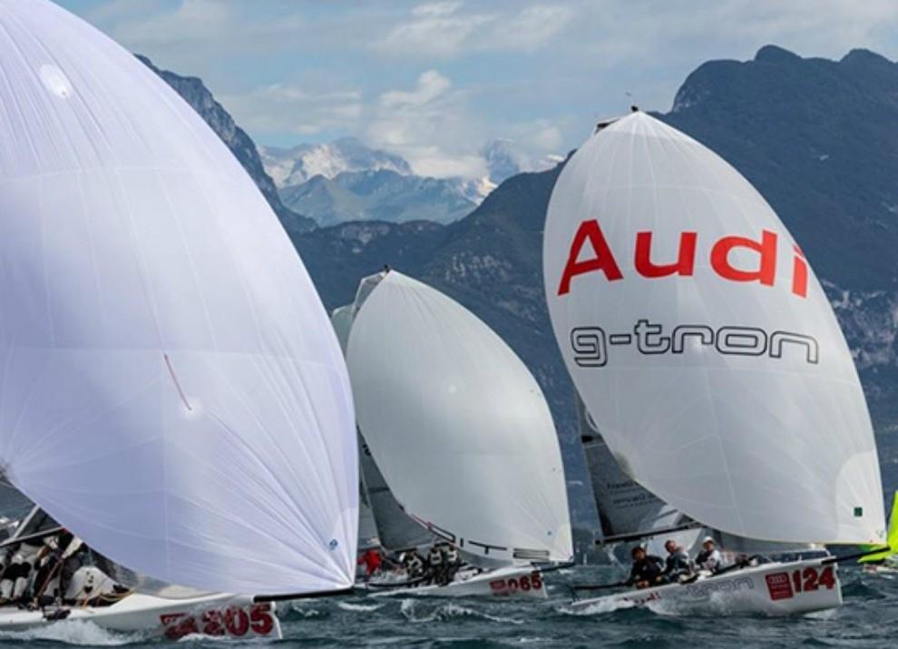 Audi tron Sailing Series 2014 a Riva del Garda