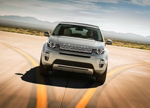 Land Rover Discovery Sport guadagna le cinque stelle EuroNCAP