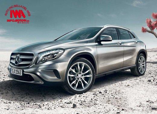 Mercedes GLA è l'Auto più Bella del Web 2014
