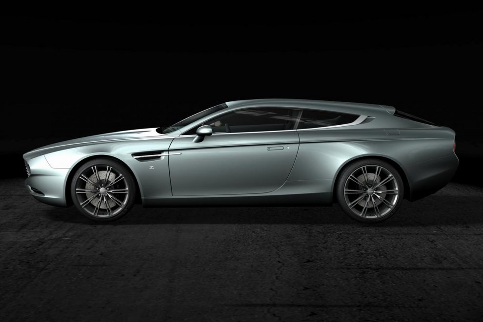 Aston Martin Virage Shooting Brake Zagato - Foto 2 di 4