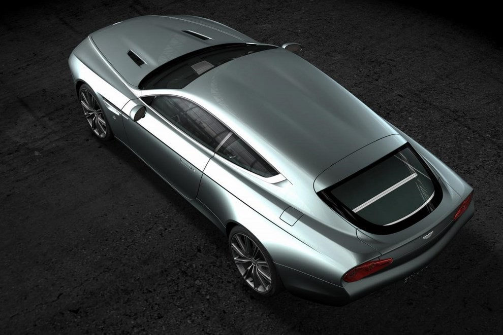 Aston Martin Virage Shooting Brake Zagato - Foto 4 di 4