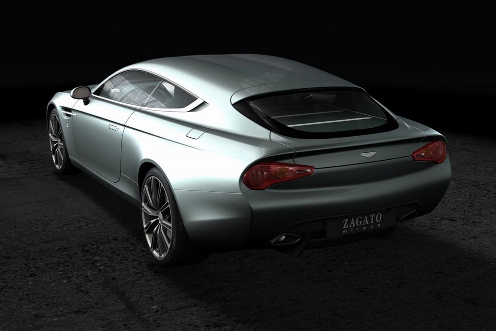 Aston Martin Virage Shooting Brake Zagato - Foto 1 di 4