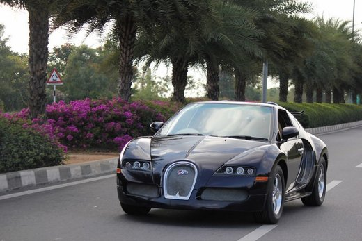 "Bugatti Veyron replica su base Suzuki Swift: ""supercar"" da 85 CV"