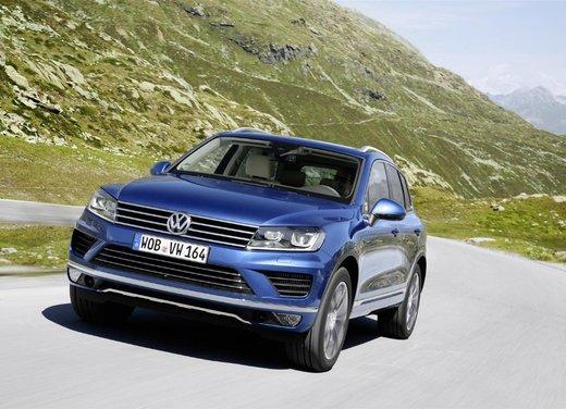 Nuova Volkswagen Touareg prova su strada, prestazioni e consumi