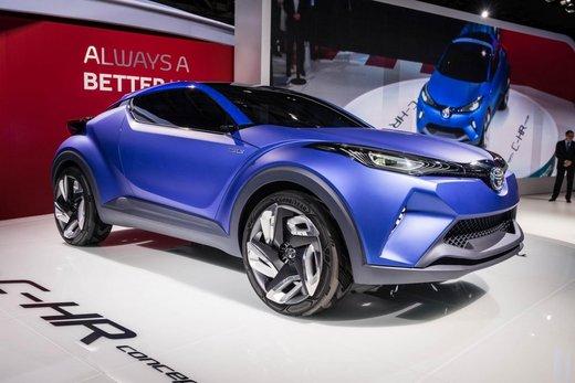 Toyota C-HR Concept il nuovo crossover della casa giapponese