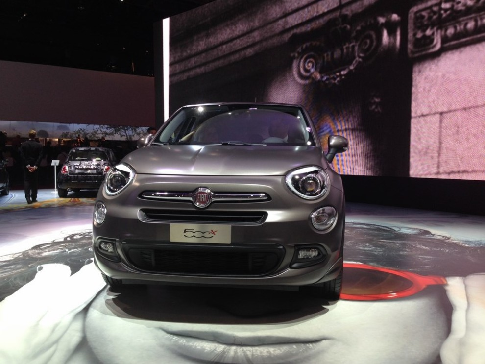 fiat 500x prime immagini ed informazioni ufficiali foto 5 infomotori. Black Bedroom Furniture Sets. Home Design Ideas