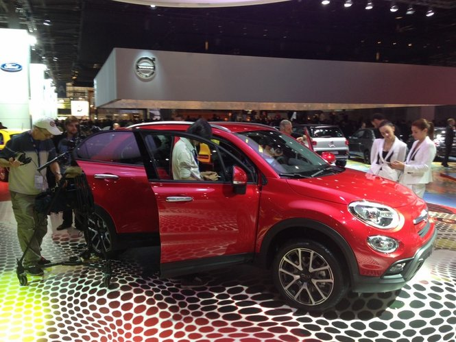 Fiat 500X prime immagini ed informazioni ufficiali