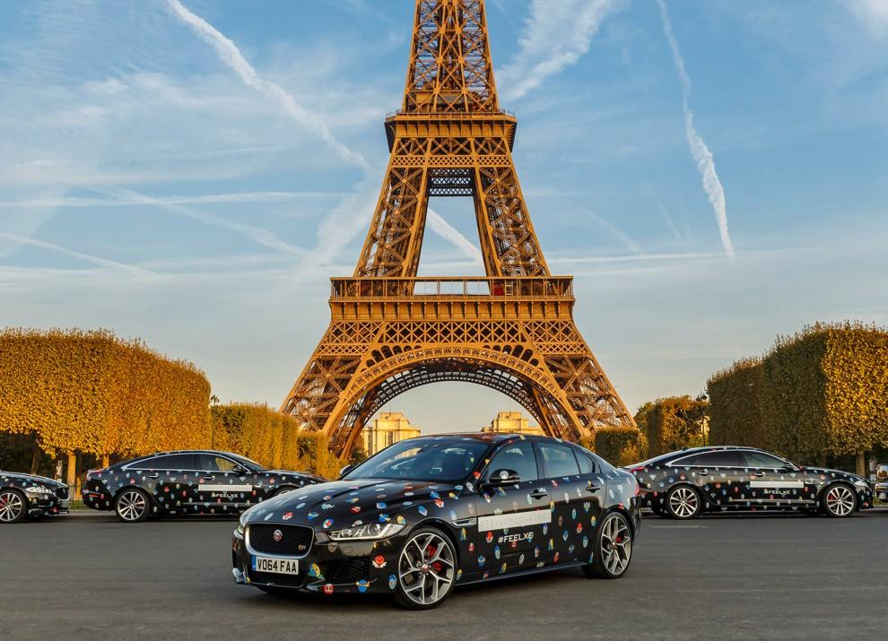 Stella McCartney fa sfilare a Parigi la nuova Jaguar XE - Foto 1 di 6