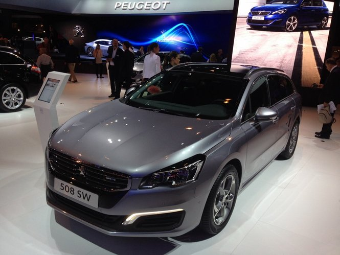 Nuova Peugeot 508 la presentazione ufficiale