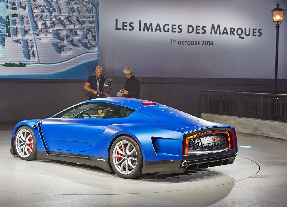 Volkswagen XL Sport Concept - Foto 6 di 19