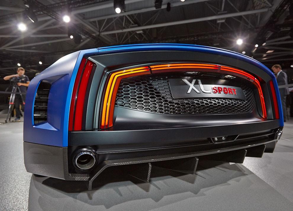 Volkswagen XL Sport Concept - Foto 15 di 19