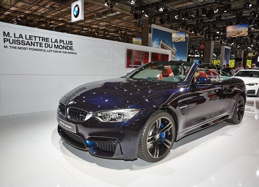 BMW M4 Cabrio nuove immagini ufficiali ed informazioni tecniche