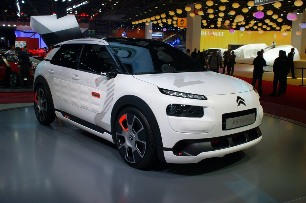 citroen c4 cactus airflow 2l concept dai consumi bassissimi foto 7 infomotori. Black Bedroom Furniture Sets. Home Design Ideas