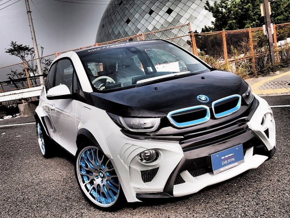 bmw i3 evo tuning by garage everyn infomotori. Black Bedroom Furniture Sets. Home Design Ideas