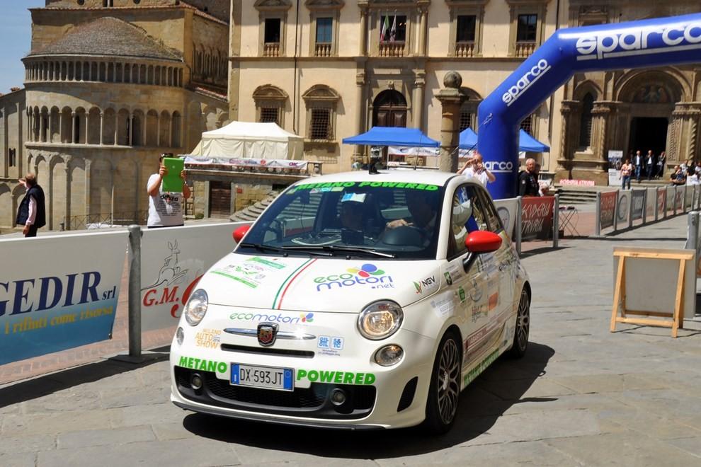 500 EcoAbarth a metano per la terza volta campione del mondo - Foto 3 di 10