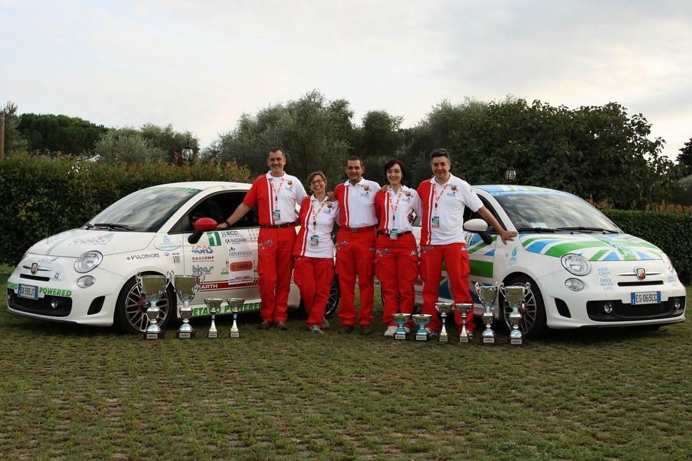 500 EcoAbarth a metano per la terza volta campione del mondo - Foto 5 di 10