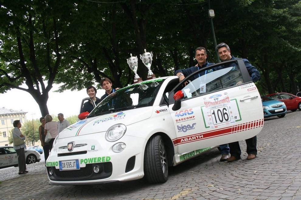 500 EcoAbarth a metano per la terza volta campione del mondo - Foto 7 di 10