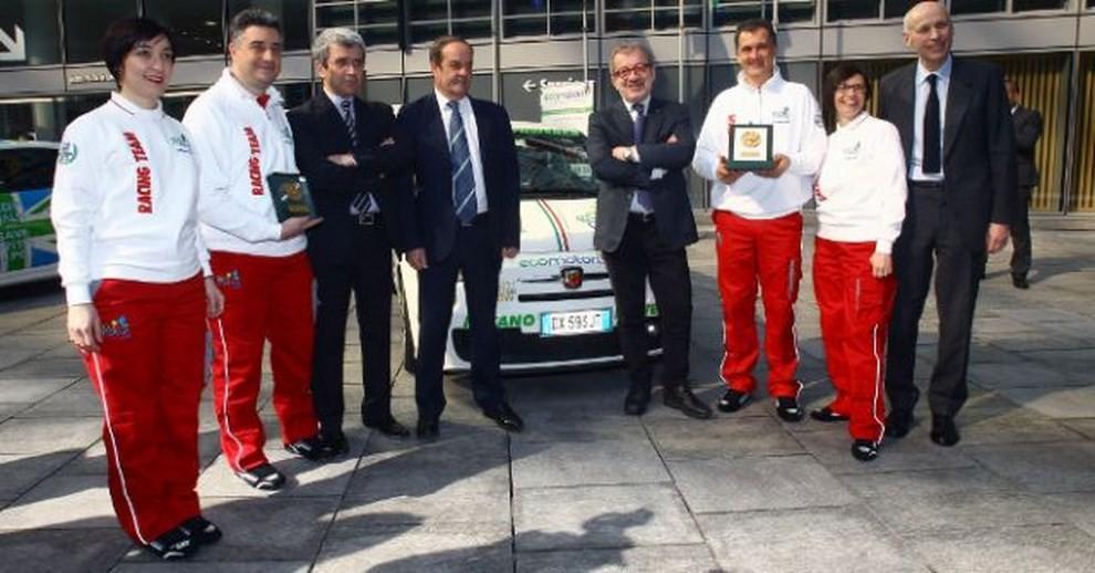 500 EcoAbarth a metano per la terza volta campione del mondo - Foto 10 di 10