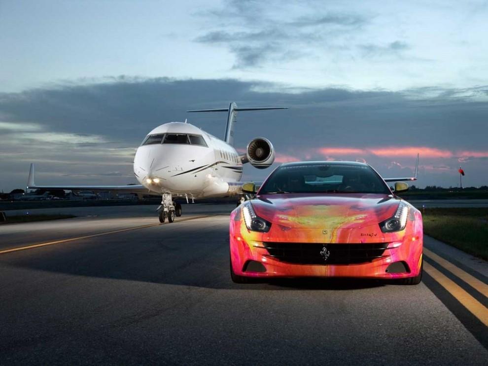 Ferrari FF trasformata in un'opera d'arte - Foto 1 di 25