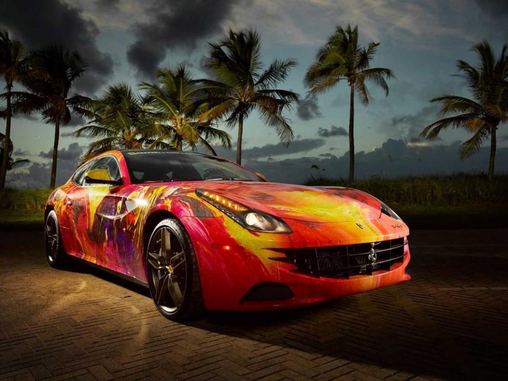 Ferrari FF trasformata in un'opera d'arte - Foto 2 di 25
