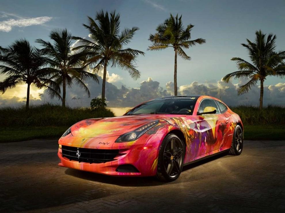 Ferrari FF trasformata in un'opera d'arte - Foto 6 di 25