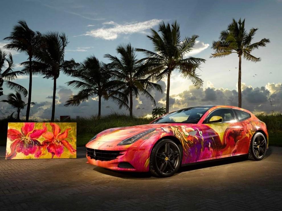 Ferrari FF trasformata in un'opera d'arte - Foto 7 di 25