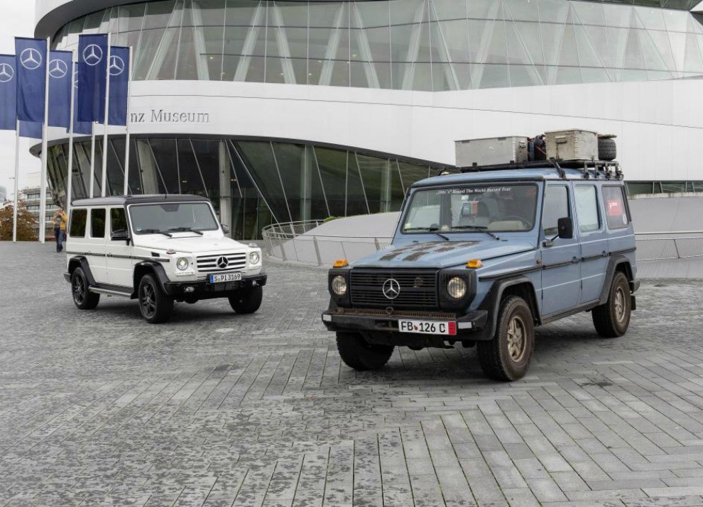 Mercedes Classe G compie 35 anni - Foto 12 di 17