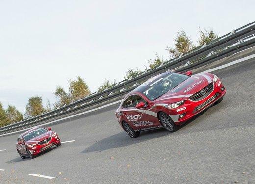 Mazda6 con motore Diesel batte il record di velocità FIA