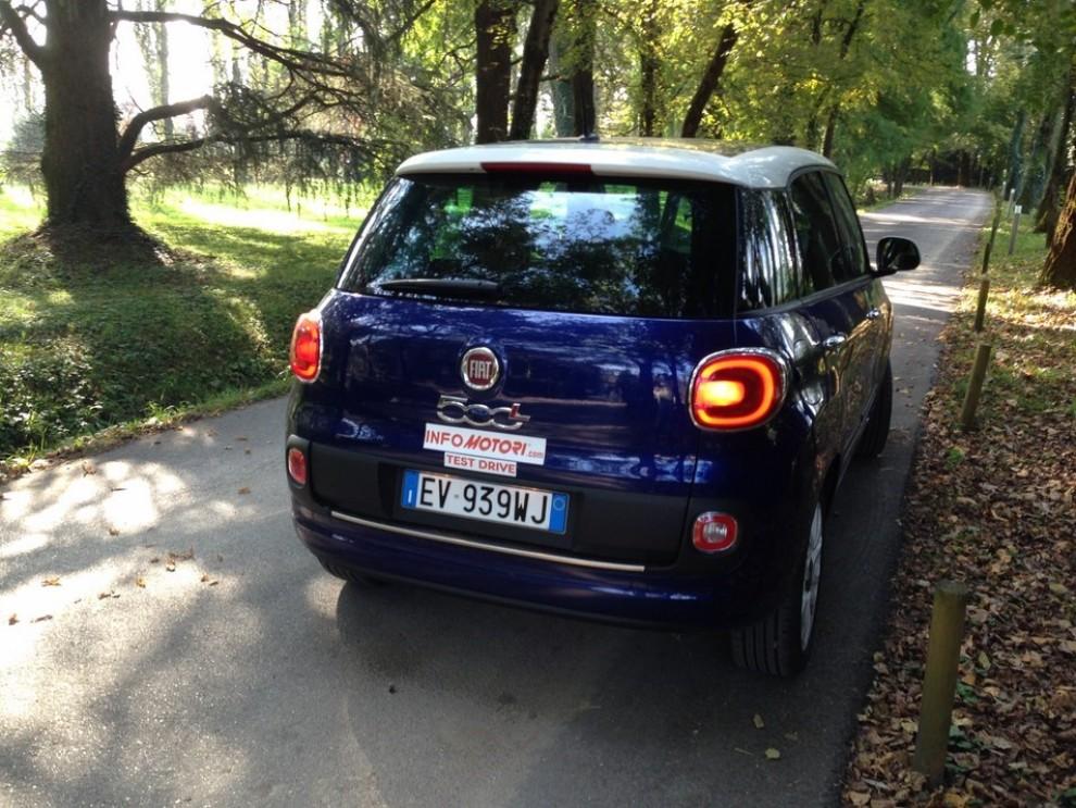 Fiat 500L GPL prova su strada prezzi e allestimenti - Foto 8 di 18