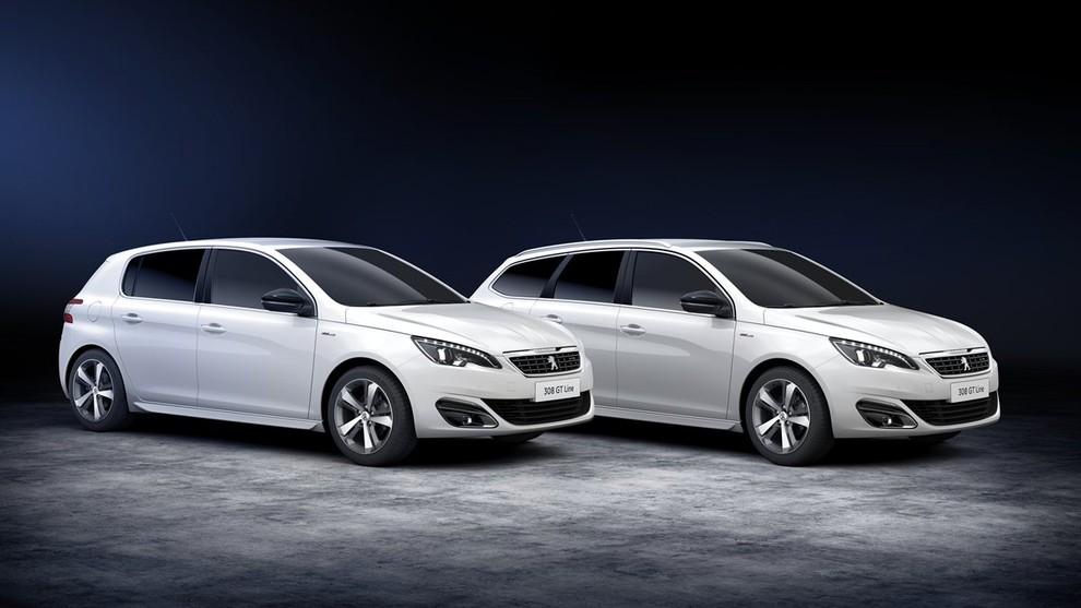 Peugeot 308 e 508 SW nella nuova versione GT Line - Foto 12 di 12