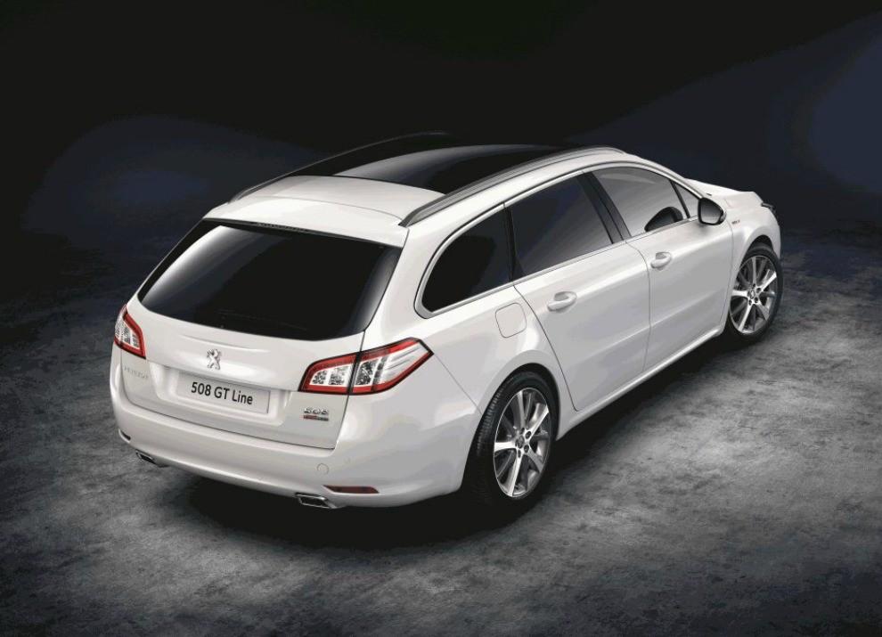 Peugeot 308 e 508 SW nella nuova versione GT Line - Foto 10 di 12